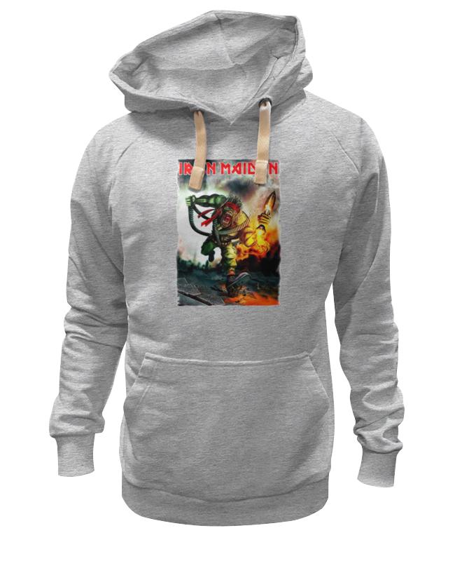 Толстовка Wearcraft Premium унисекс Printio Iron maiden cd iron maiden a matter of life and death