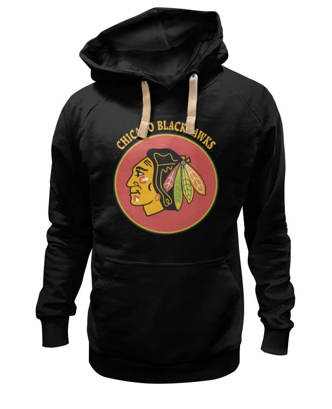 Толстовка Wearcraft Premium унисекс Printio Чикаго блэкхокс футболка print bar chicago blackhawks
