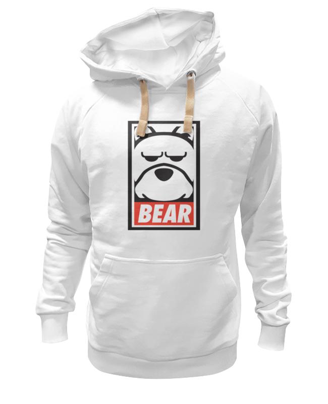 Толстовка Wearcraft Premium унисекс Printio Мишка (bear, obey) толстовка wearcraft premium унисекс printio crew five cali bear