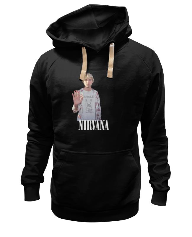Толстовка Wearcraft Premium унисекс Printio Nirvana kurt cobain hello t-shirt футболка wearcraft premium slim fit printio nirvana kurt cobain hello t shirt