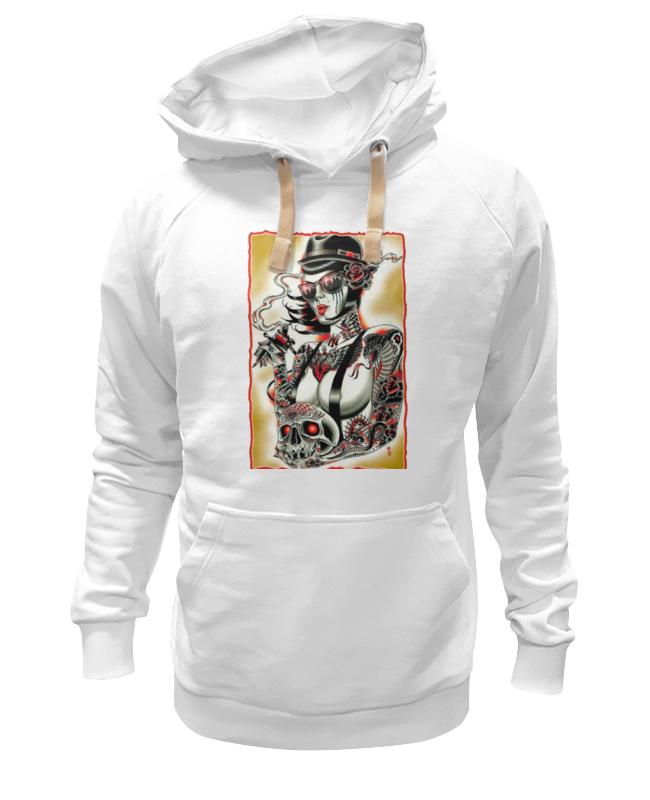 Толстовка Wearcraft Premium унисекс Printio Tatoo girl artigli girl толстовка