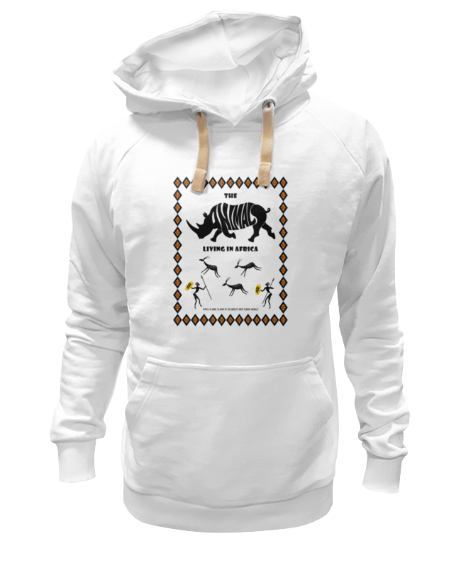 Толстовка Wearcraft Premium унисекс Printio The animals living in africa толстовка wearcraft premium унисекс printio the animals living in africa