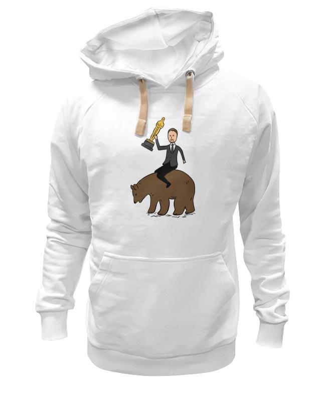 Толстовка Wearcraft Premium унисекс Printio Ди каприо с оскаром на медведе лина ди открой