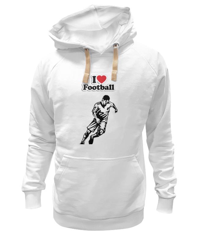 Толстовка Wearcraft Premium унисекс Printio Я люблю футбол толстовка wearcraft premium унисекс printio я на гейзенберге