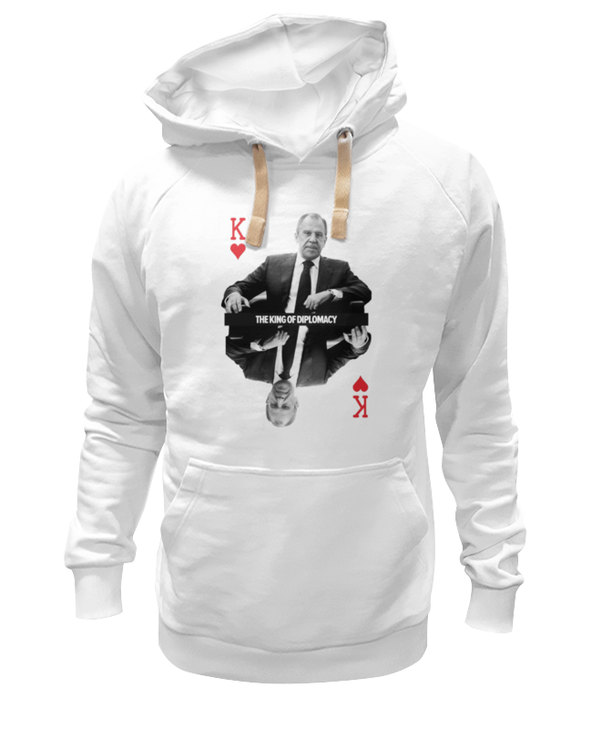 Толстовка Wearcraft Premium унисекс Printio Король дипломатии by design ministry футболка wearcraft premium slim fit printio король дипломатии by design ministry