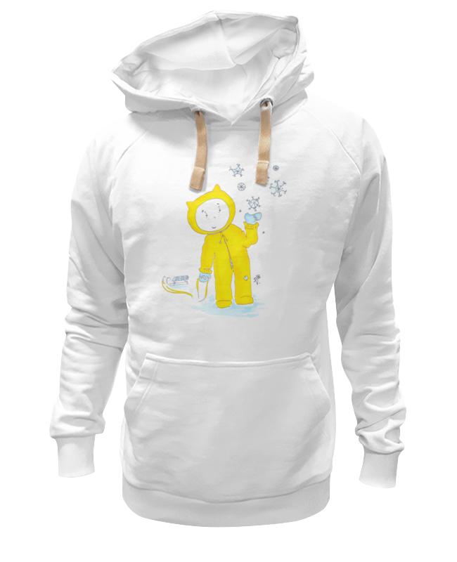Толстовка Wearcraft Premium унисекс Printio Зимняя прогулка лабиринт зимняя сказка волшебная зима
