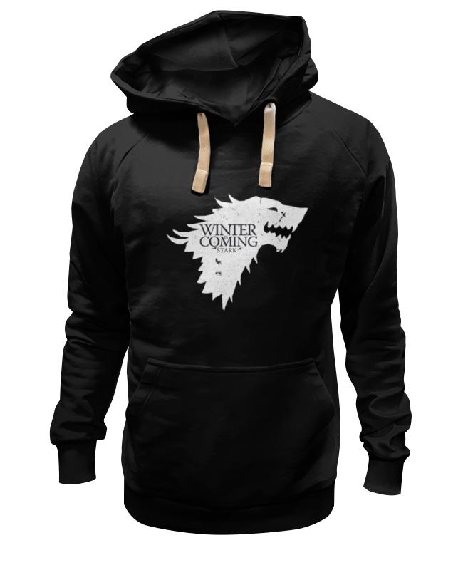 Толстовка Wearcraft Premium унисекс Printio House stark (game of thrones) три вороньи крылья игра престолов direwolf ghost house of stark winter coming куртка толстовка толстовка
