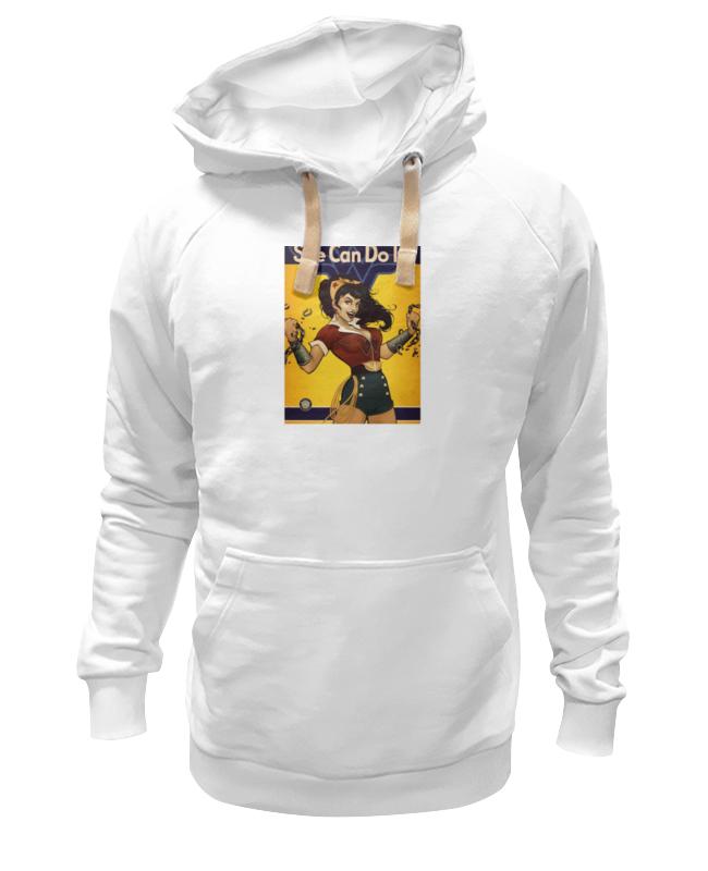 Толстовка Wearcraft Premium унисекс Printio She can do it! детская футболка классическая унисекс printio she can do it