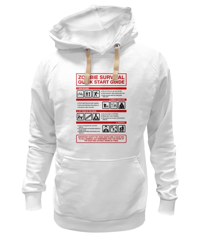 Толстовка Wearcraft Premium унисекс Printio Зомби апокалипсис. инструкция по выживанию бланк э приманка для спуктума инструкция по выживанию на зогге isbn 978 5 91918 785 1