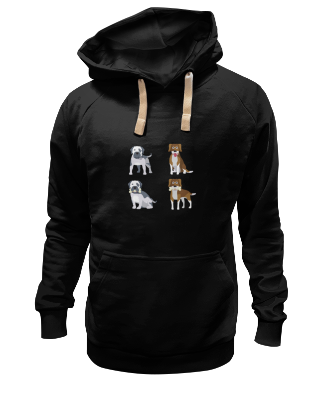 Толстовка Wearcraft Premium унисекс Printio Собаки цена и фото