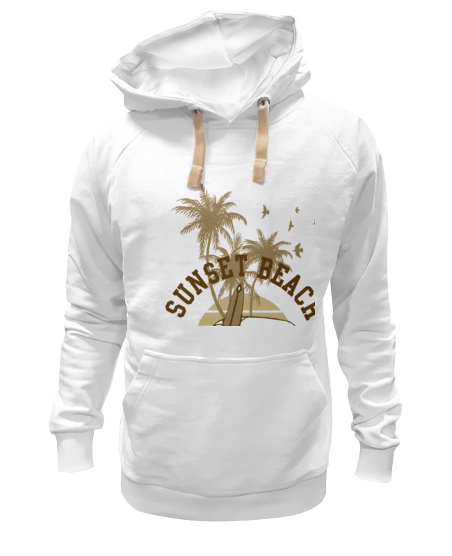 Толстовка Wearcraft Premium унисекс Printio ....sunset beach....пляж футболка wearcraft premium printio sunset beach пляж