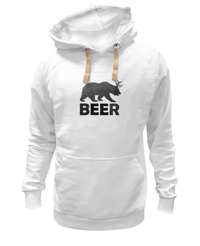 Толстовка Wearcraft Premium унисекс Printio Beer (bear) сумка printio beer bear
