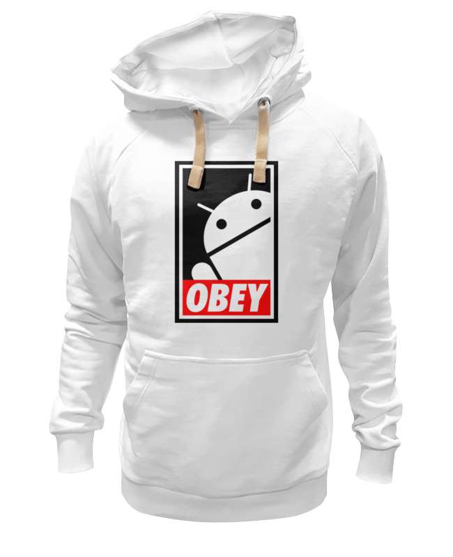 Толстовка Wearcraft Premium унисекс Printio Android (obey) толстовка wearcraft premium унисекс printio android eats apple