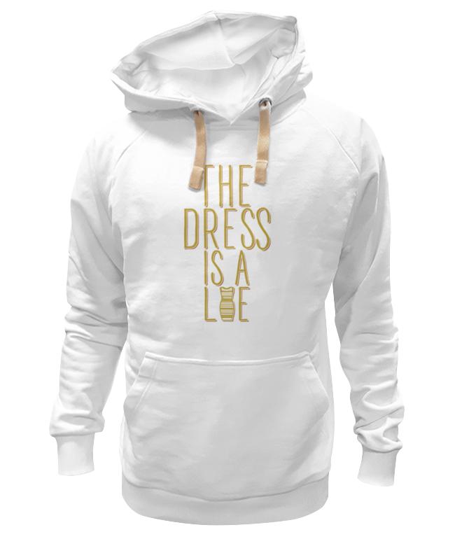 Толстовка Wearcraft Premium унисекс Printio Какого цвета платье?