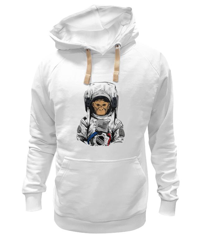 Толстовка Wearcraft Premium унисекс Printio Обезьяна космонавт толстовка wearcraft premium унисекс printio обезьяна с соской