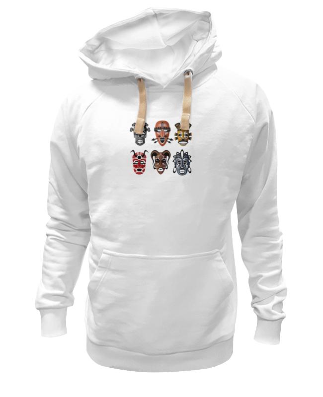 Толстовка Wearcraft Premium унисекс Printio Африканские маски футболка wearcraft premium slim fit printio африканские маски 2