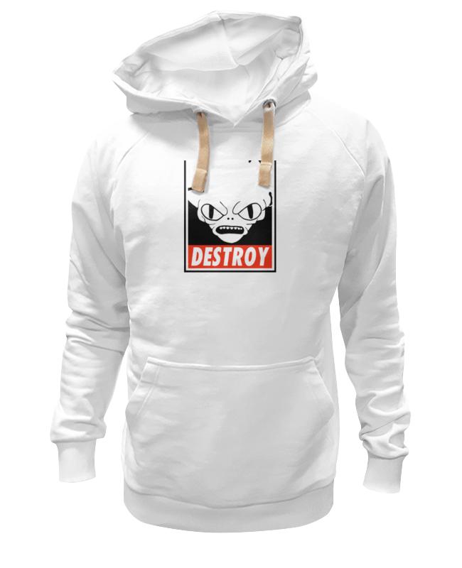 Толстовка Wearcraft Premium унисекс Printio Морбо (футурама) детская футболка классическая унисекс printio морбо футурама