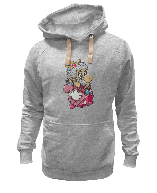 Толстовка Wearcraft Premium унисекс Printio Mario (princess peach) лонгслив printio mario princess peach