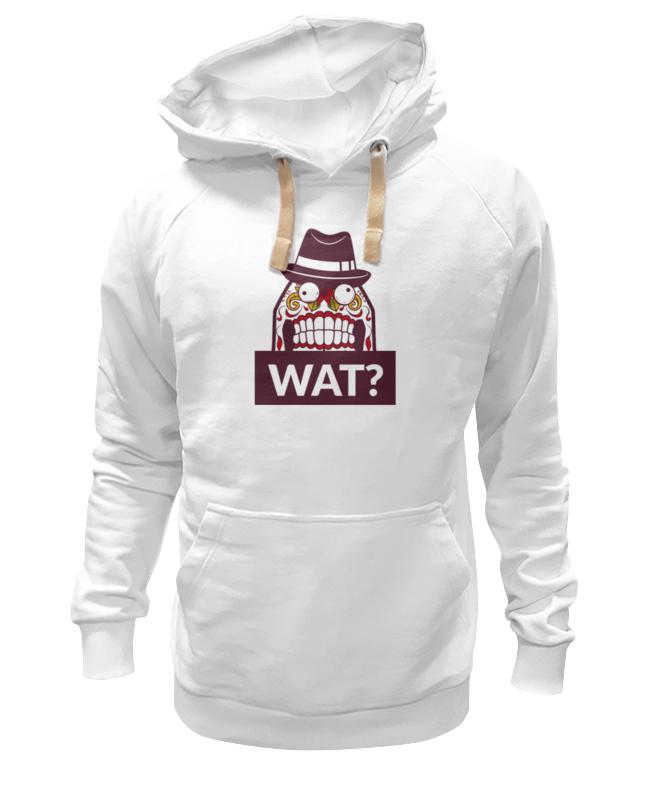 Толстовка Wearcraft Premium унисекс Printio Wat? футболка классическая printio wat