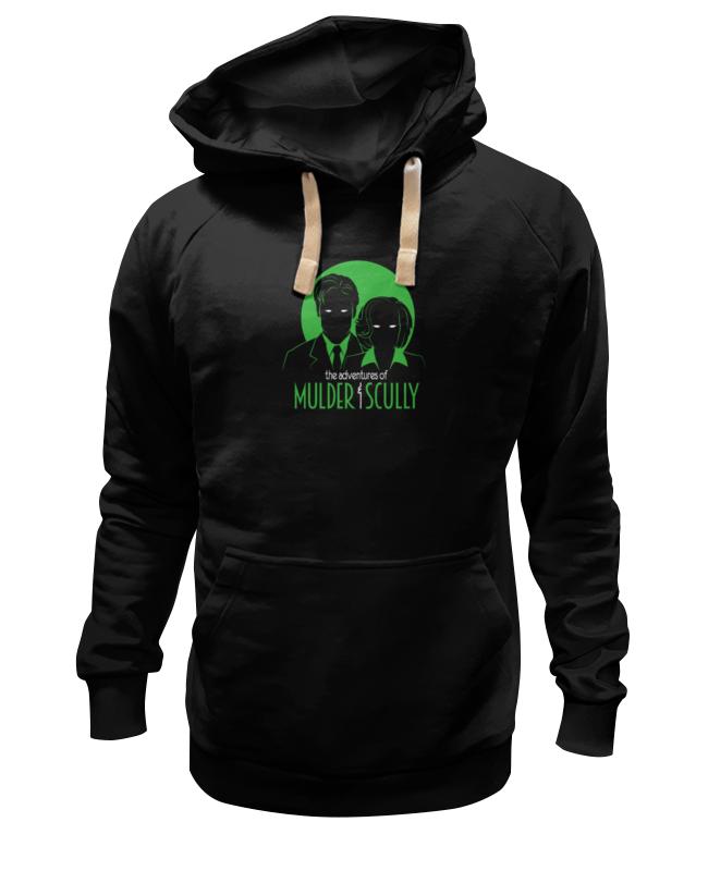 Толстовка Wearcraft Premium унисекс Printio Малдер и скалли (секретные материалы) смеси и сыпучие материалы