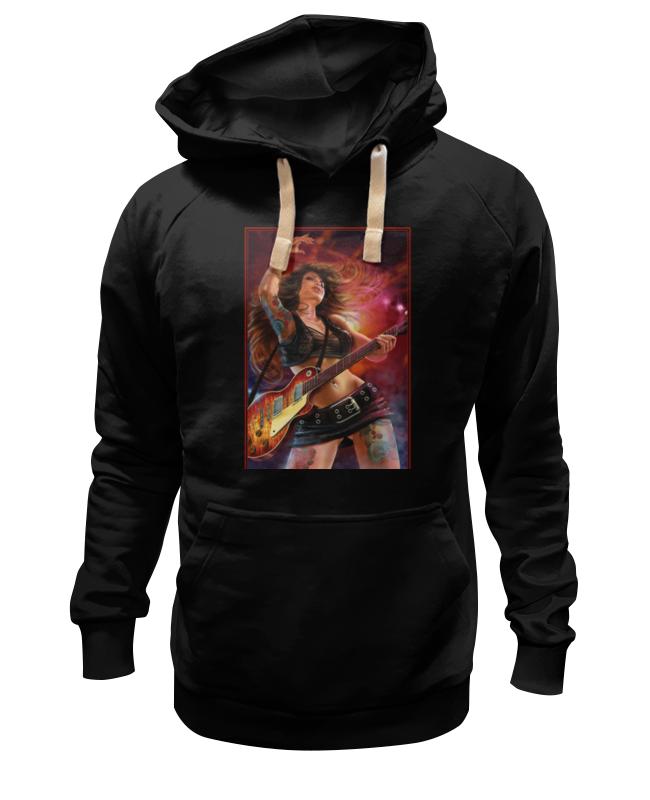 Толстовка Wearcraft Premium унисекс Printio Rock girl толстовка wearcraft premium унисекс printio gothic girl