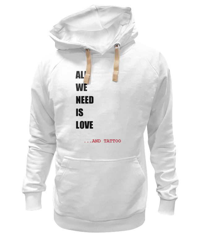 Толстовка Wearcraft Premium унисекс Printio All we need is love m толстовка wearcraft premium унисекс printio all we need is love