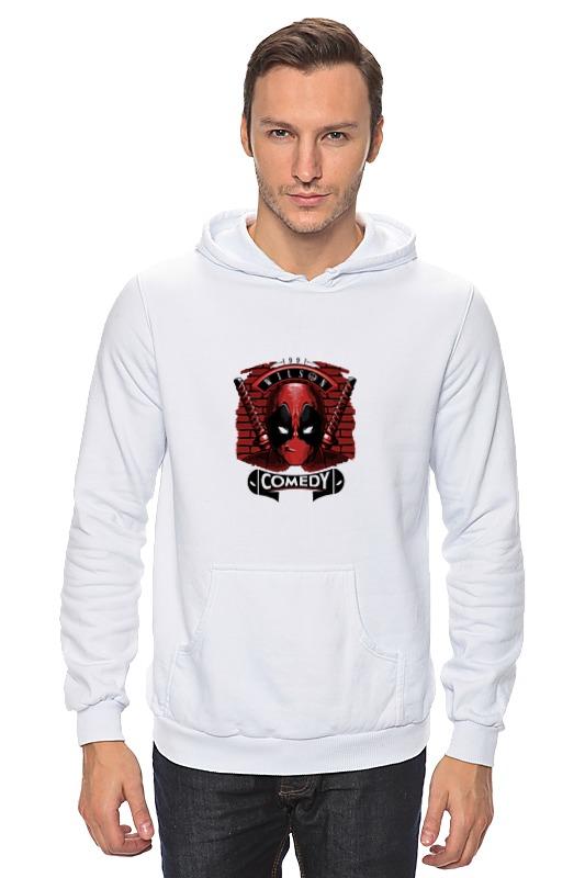 Толстовка Wearcraft Premium унисекс Printio Deadpool comedy толстовка wearcraft premium унисекс printio лыжница