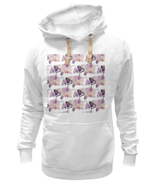 Толстовка Wearcraft Premium унисекс Printio Ветка орхидеи цветной тм орхидеи