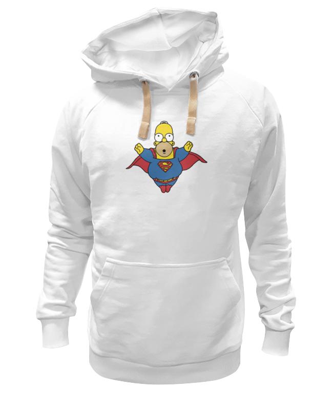 Толстовка Wearcraft Premium унисекс Printio Гомер супермен