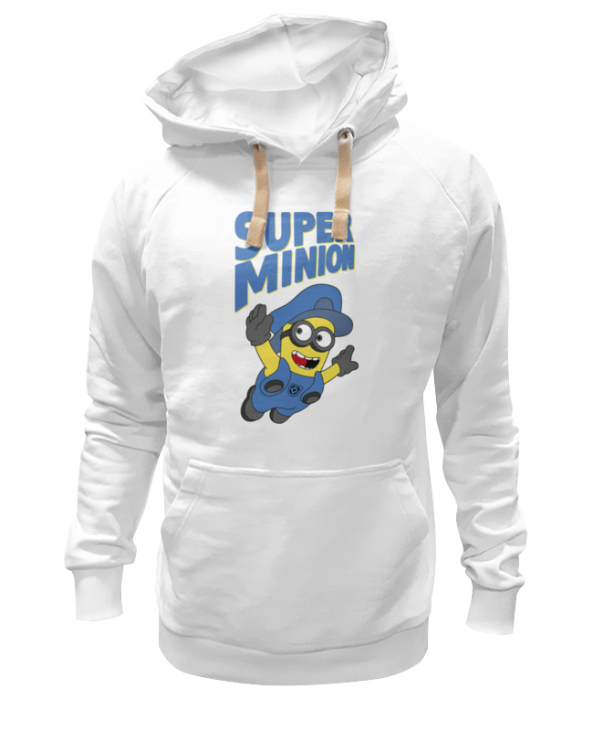 Толстовка Wearcraft Premium унисекс Printio Super minion