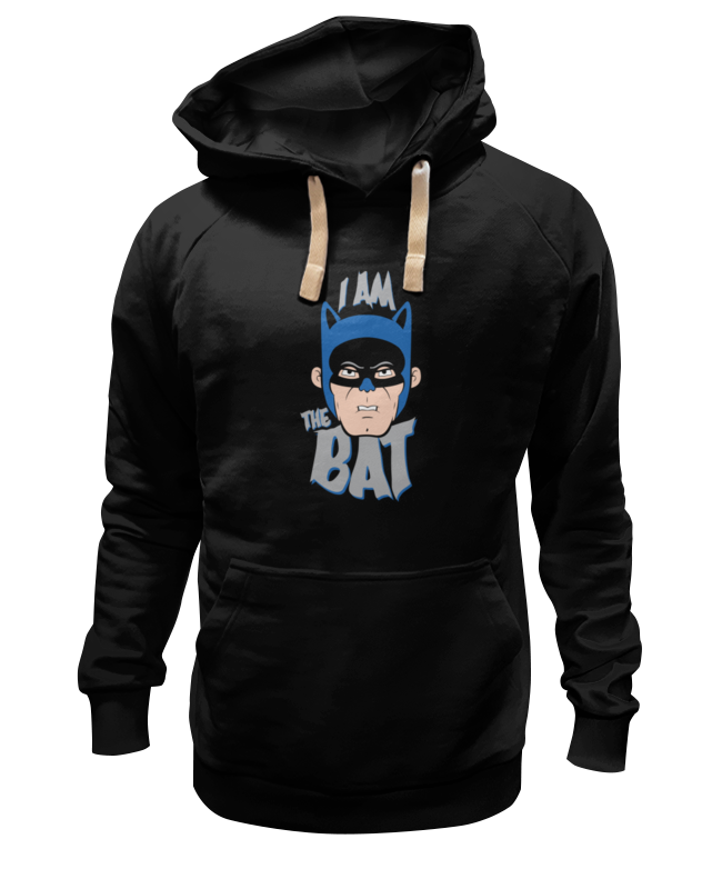 Толстовка Wearcraft Premium унисекс Printio I am the bat толстовка wearcraft premium унисекс printio the rasmus