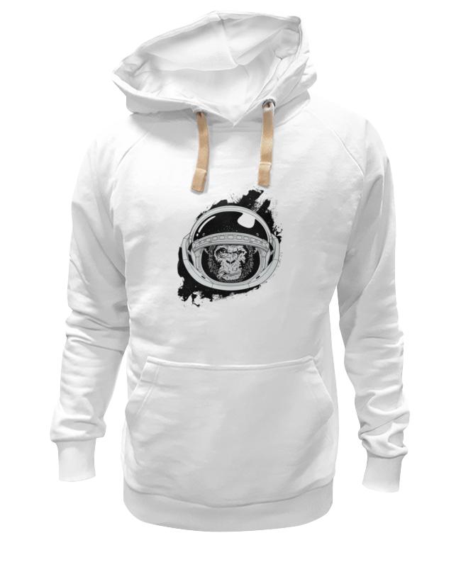 Толстовка Wearcraft Premium унисекс Printio Space monkey (космическая обезьяна) футболка wearcraft premium printio space monkey космическая обезьяна