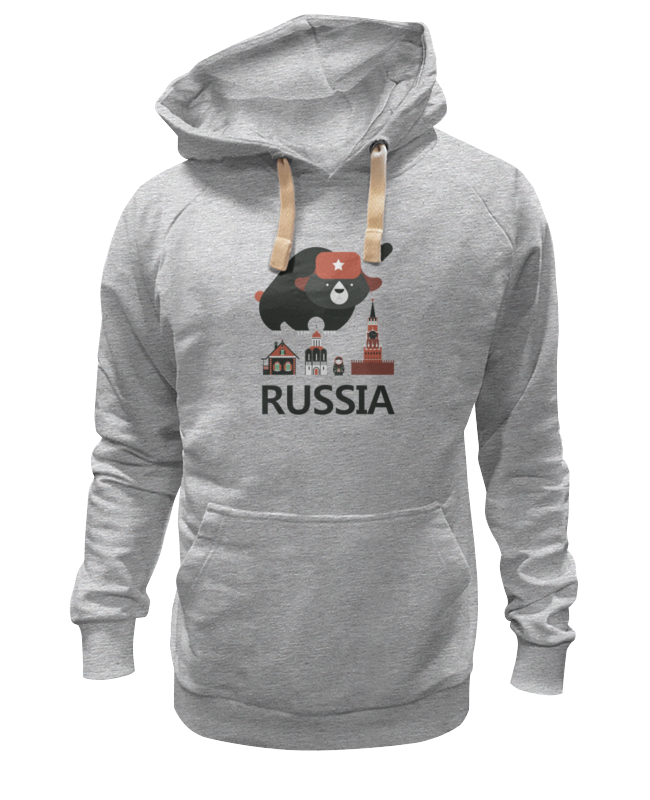 Толстовка Wearcraft Premium унисекс Printio Россия (russia) летняя шина kumho ecowing es01 kh27 195 60 r15 88h