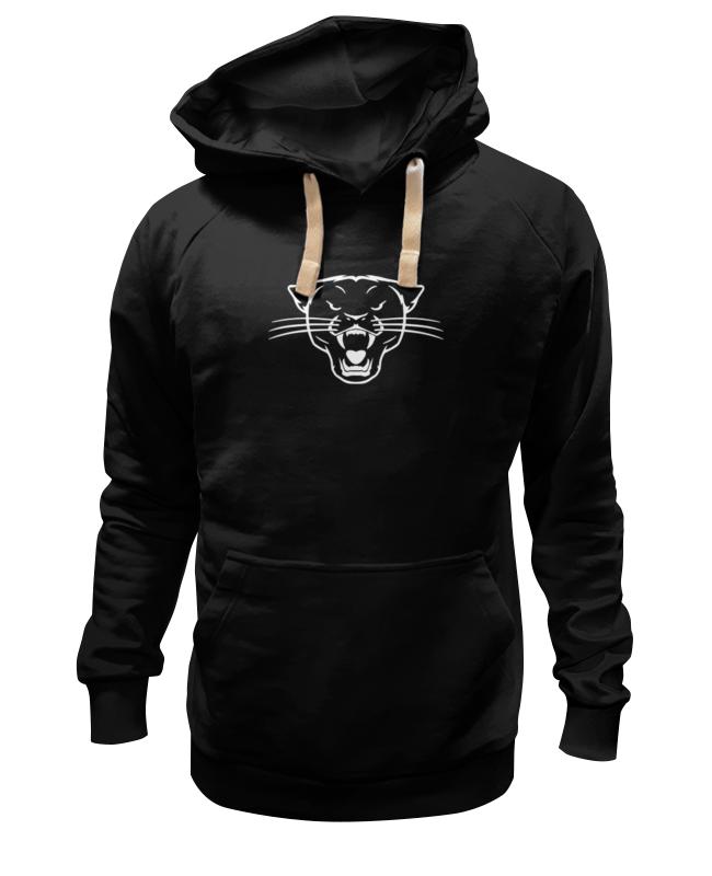 Толстовка Wearcraft Premium унисекс Printio Черная пантера (black panther) майка классическая printio черная пантера black panther