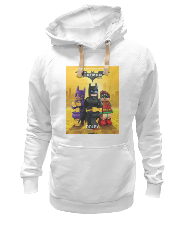Толстовка Wearcraft Premium унисекс Printio Лего фильм: бэтмен / the lego batman movie lego batman movie 70916 лего фильм бэтмен бэтмолёт