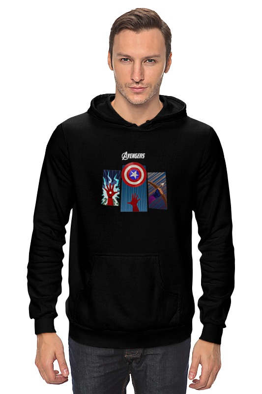 Толстовка Wearcraft Premium унисекс Printio Avengers