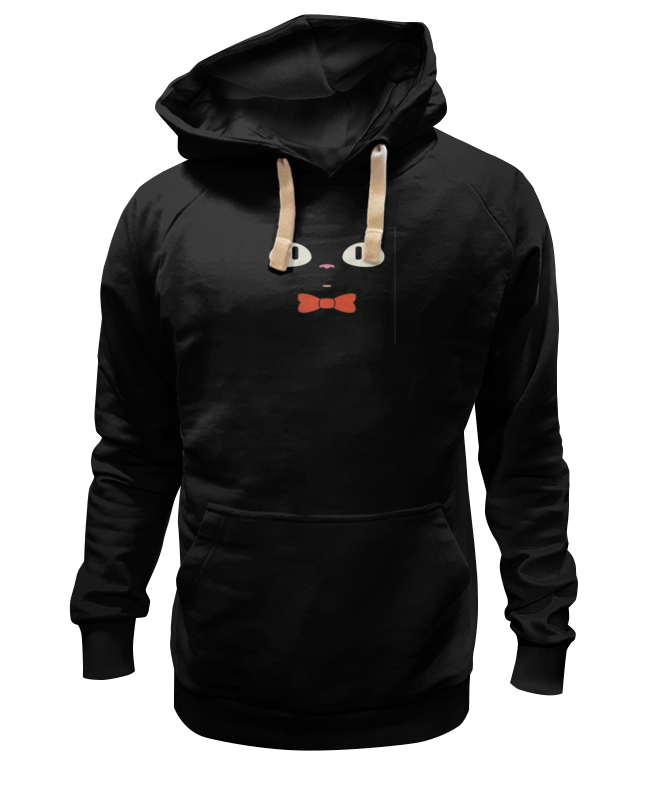 Толстовка Wearcraft Premium унисекс Printio Чёрный кот 9tong чёрный цвет