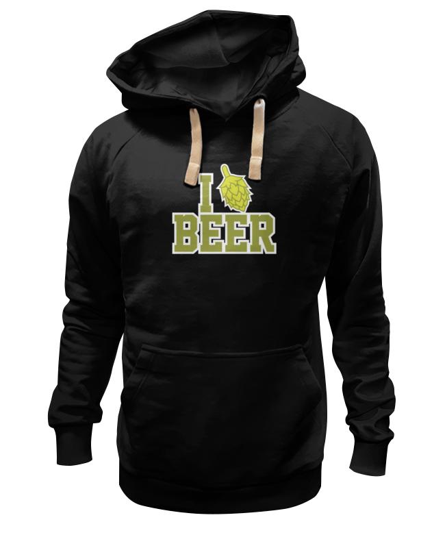 Printio Люблю пиво толстовка wearcraft premium унисекс printio пиво duff