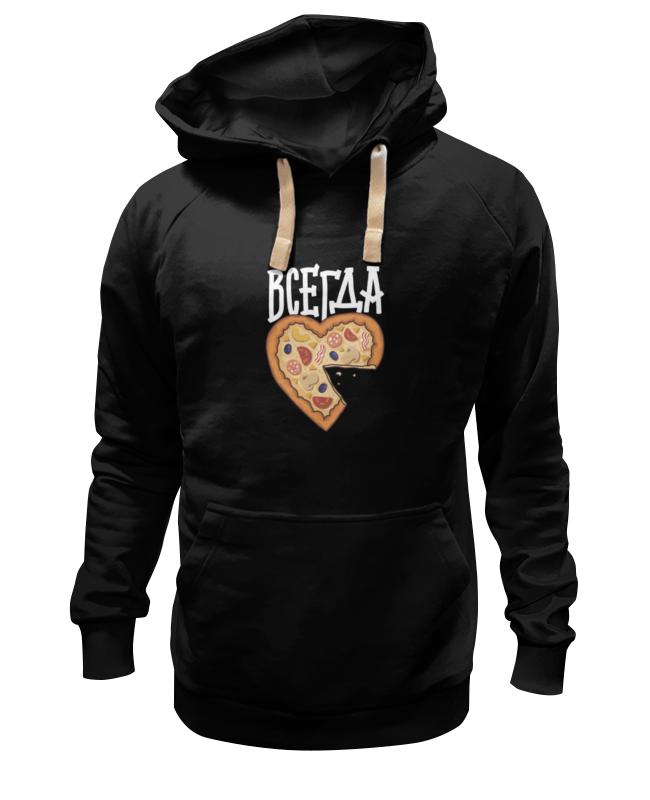 Толстовка Wearcraft Premium унисекс Printio Мышь и пицца. парные футболки. футболки
