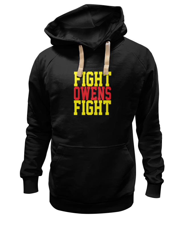 Толстовка Wearcraft Premium унисекс Printio Fight owens fight (wwe) wwe