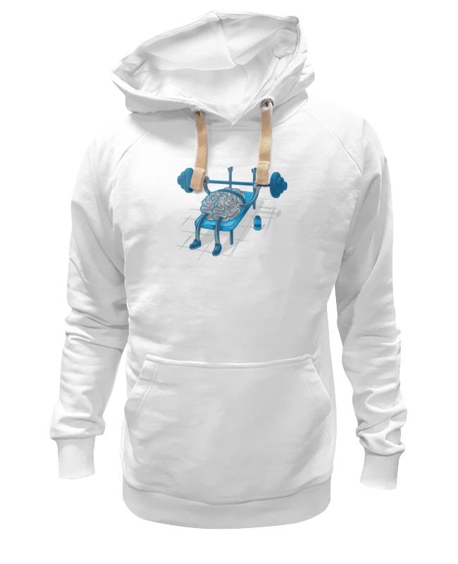 Толстовка Wearcraft Premium унисекс Printio Качай мозги толстовка wearcraft premium унисекс printio пропитые мозги