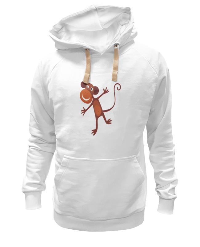 Толстовка Wearcraft Premium унисекс Printio Веселая обезьяна толстовка wearcraft premium унисекс printio обезьяна с соской