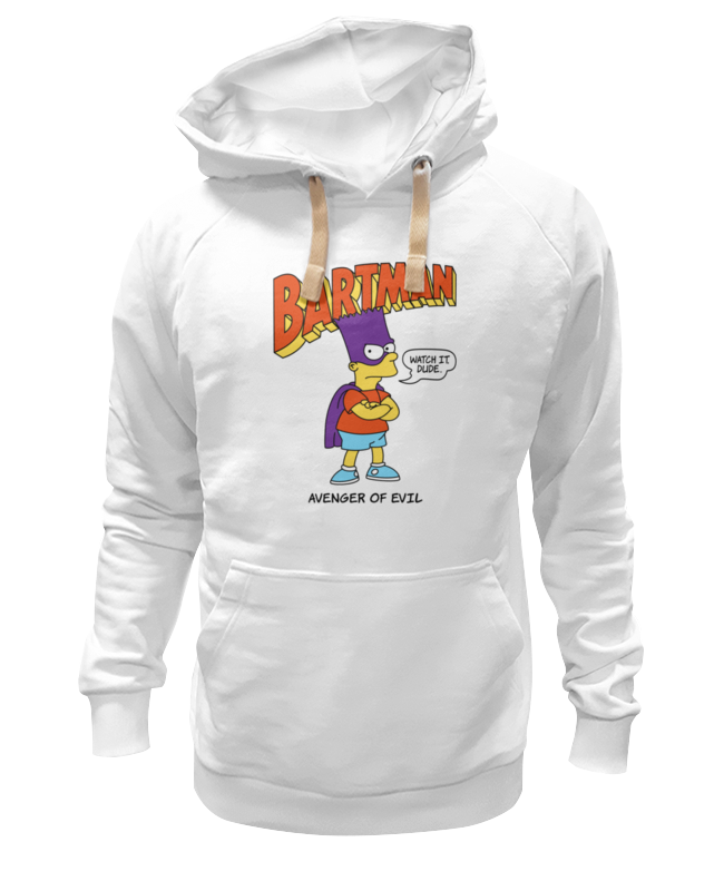 Толстовка Wearcraft Premium унисекс Printio Бартмен