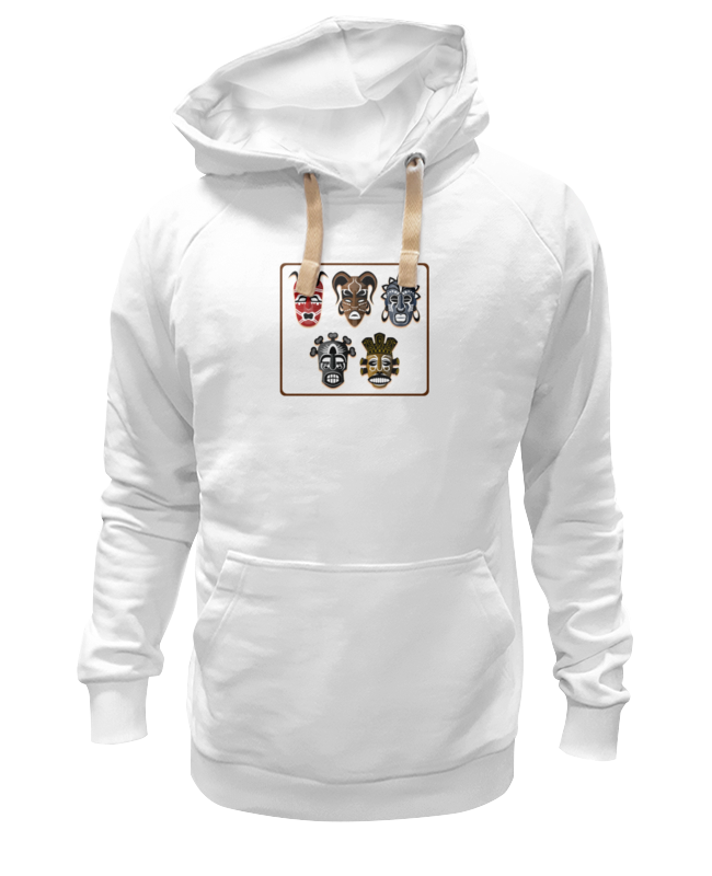 Толстовка Wearcraft Premium унисекс Printio Африканские маски 2 футболка wearcraft premium slim fit printio африканские маски 2