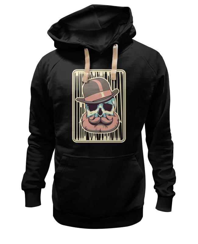 Толстовка Wearcraft Premium унисекс Printio Бородатый череп толстовка wearcraft premium унисекс printio череп и скейты