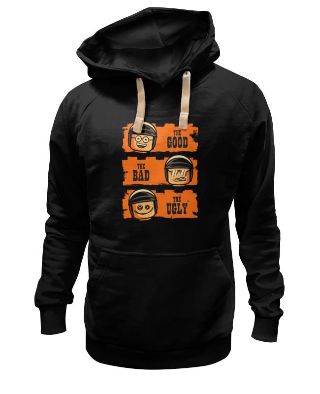 Толстовка Wearcraft Premium унисекс Printio Хороший, плохой, злой (лего) толстовка wearcraft premium унисекс printio the good the bad and the wookie
