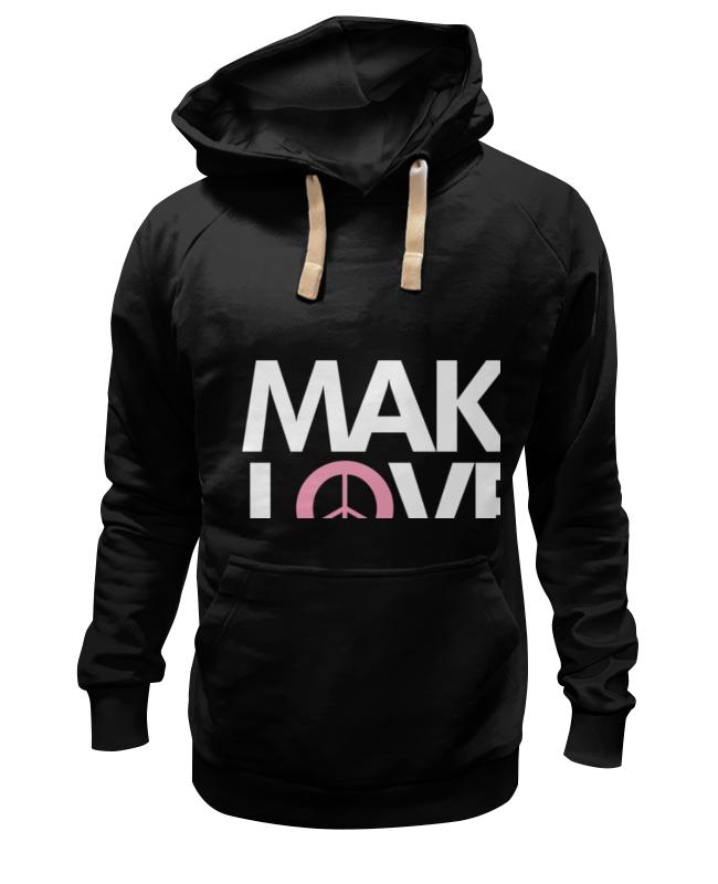Фото - Толстовка Wearcraft Premium унисекс Printio Make love not war ladsoul 2018 women multifunction makeup organizer bag cosmetic bags large travel storage make up wash lm2136 g