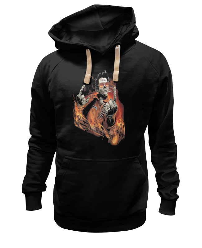 Толстовка Wearcraft Premium унисекс Printio Зомби рок-гитарист толстовка wearcraft premium унисекс printio еда для зомби