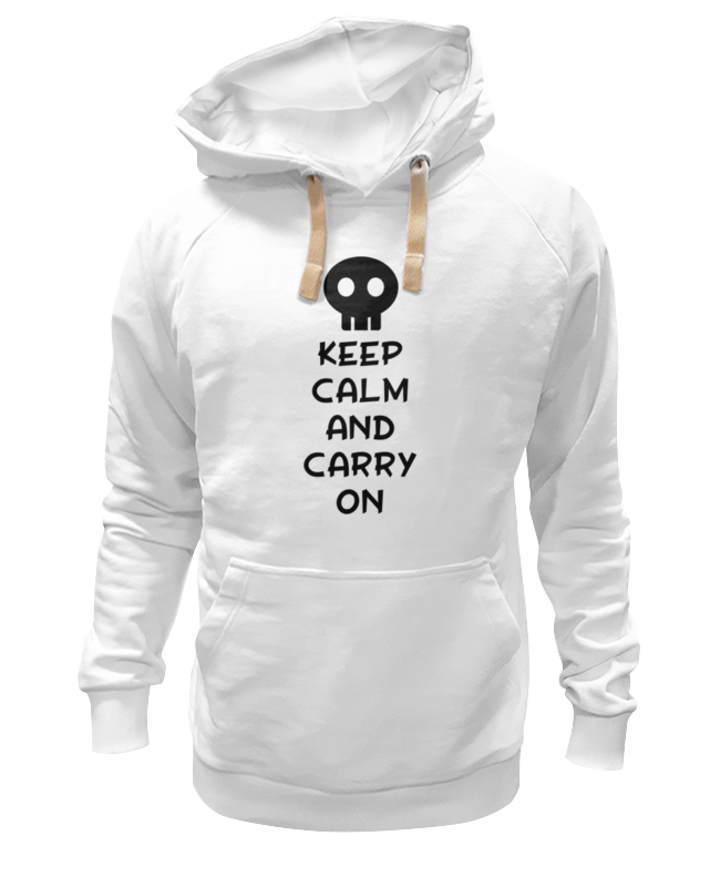 Толстовка Wearcraft Premium унисекс Printio Keep calm and carry on футболка wearcraft premium printio keep calm and ski on