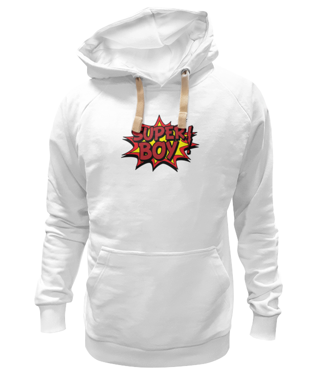 Printio Super boy толстовка wearcraft premium унисекс printio white boy